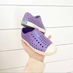 Native Shoes - Purple Iridescent Water Shoes